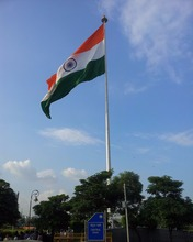 Custom 3x5ft large flying waterproof national flag, indian flag
