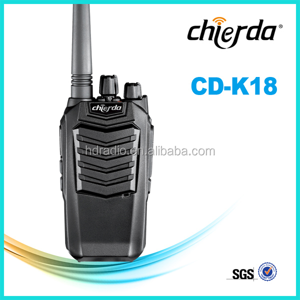 Handheld Vhf Long Range Two Way Radio Communication(CD-K18)