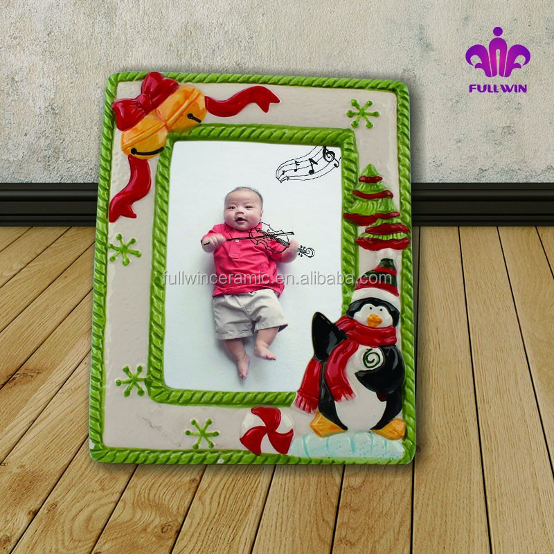 2015 new ceramic picture frames photo for Baby