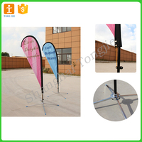 Wind blade flag polyester fabric