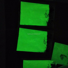 Glow in dark pigment powder for glass mosaic free sample fluorescent phosphor