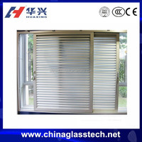 CE certificate modern style aluminum profile window blind for living room