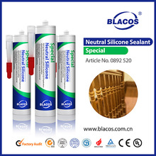 Top Quality Broad Adhesion Non Yellowing 100% Waterproof Silicone Based Sealant For Windows