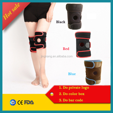 Fitness adjustable neoprene knee brace sports protector orthopedic knee support