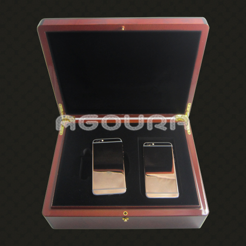 OEM/ODM wooden phone packaging wood box for iPhone