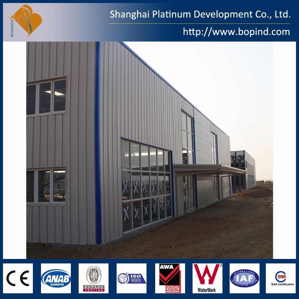 steel bar storage prefab warehouse for sale