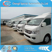 Foton mini refrigerated van truck