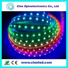 Hot sell 2014 ws2812 led strip ws2812b ws2811 led 5050 RGB tape 32LEDs/ Meter,SMD5050 RGB,addressable LED strip,color programma