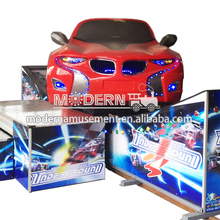 Attractive amusement entertainment equipment kids car rides