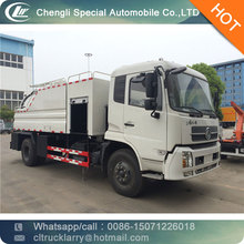 4000 Liters Water Tank 8000 Liters Suction Tank 4x2 Dongfeng Used Pressure Vacuum Sewage Suction Tanker Truck