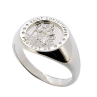 stainless steel silver 925 custom design crest signet ring