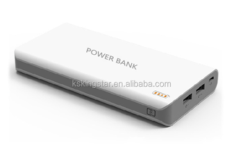 dual usb powerbank charger 16000mah power bank
