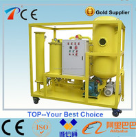Automatic portable engine oil filter machine model TYA by removal of moisture, gas and particles