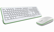 Programmable Buttons professional Precise Tracking mini multimedia wireless keyboard and mouse combo with FCC CE BQB