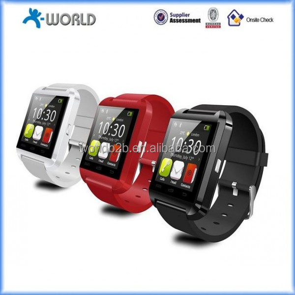2014 New Watch phone Waterproof Smart Watch Phone Bluetooth Speakphone Smartwatch Phonebook Call MP3 Alarm For iPhone Samsung