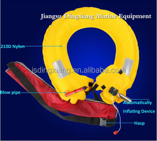 inflatable life ring buoy automatic life buoy with EC cetificates