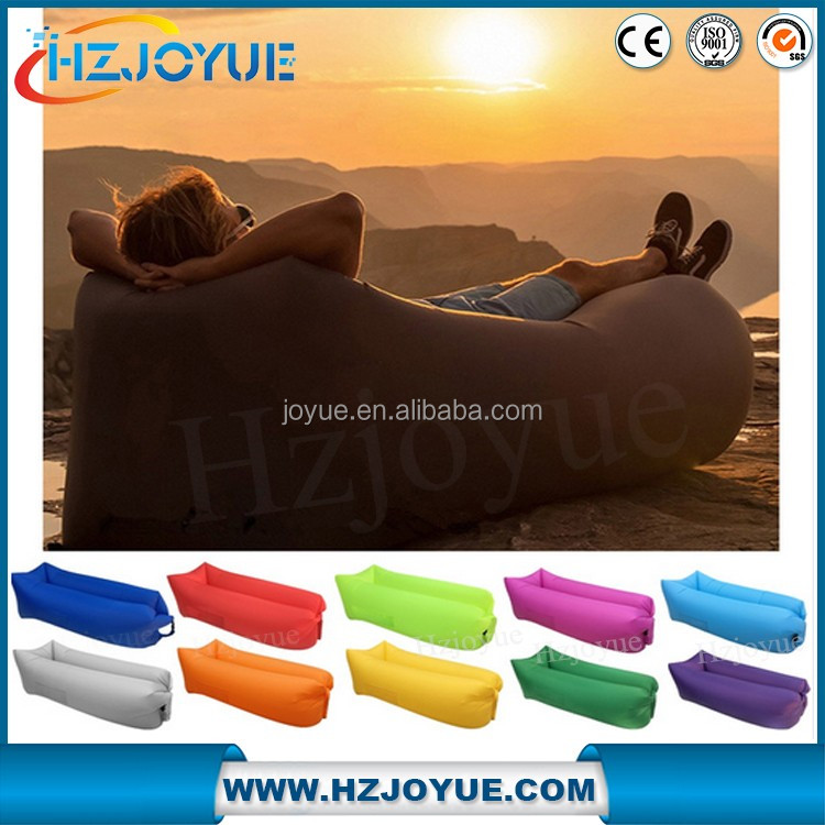Fast Inflatable Outdoor/Indoor Lounger Air beach bed air sofa lounger