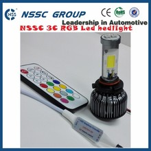 New auto lighting spare parts car accessories nssc 3c RGB 3000lm motorcycle truck used led headlight kits