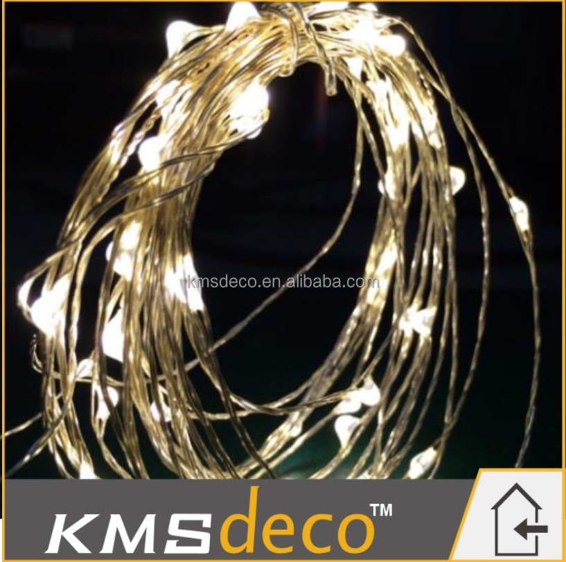 indoor or outdoor battery operated Christmas copper wire mini led string lights