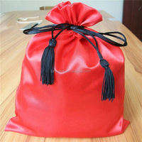 factory sale draw string christmas santa sack