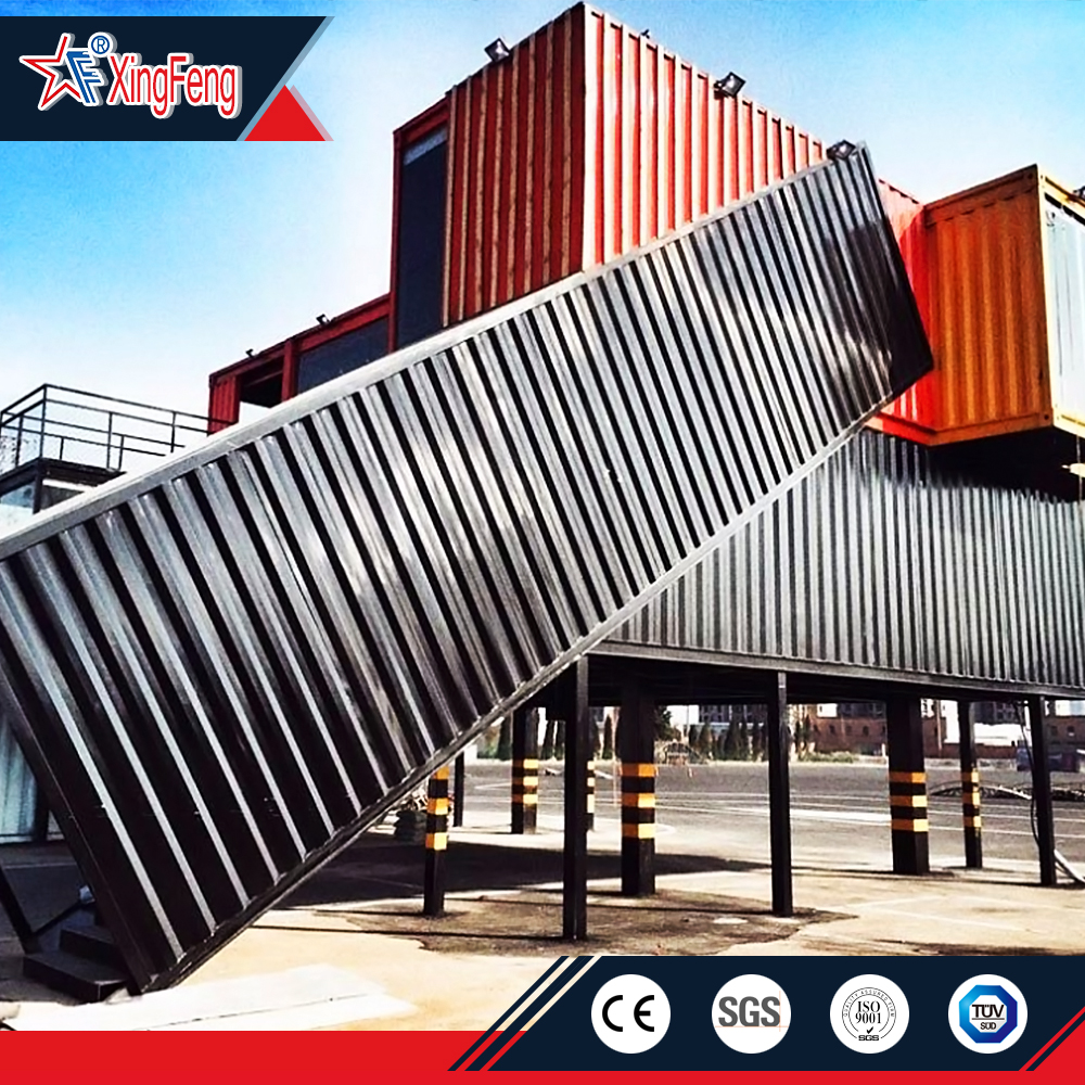 20ft high  cube dubai solar shipping container house for sale