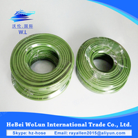 Auto parts green silicone heater hose rubber vacuum hose car hose