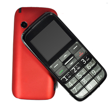 China shenzhen original factory cheap senior citizen 2G GSM mobile feature phone with SOS big button