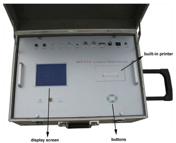 auto gas motorcycle exhaust gas analyzer with <strong>CE</strong>