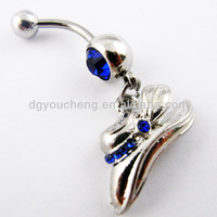 316LStainless Steel Piercing Jewelry Indian Style Belly Ring