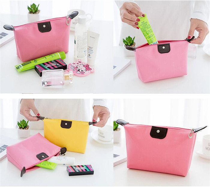 Hot sales  colorful wholesale lady custom cosmetic bag travel makeup beauty bag_13