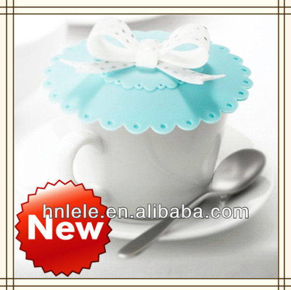 2015 new product silicone lid,silicone cup cover for ceramic mug