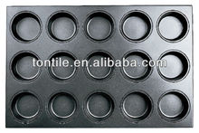 [Tontile]Baking Jumbo Muffin Mould-15 Indents(Silicone) SN9222