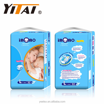 Disposable baby diapers and nappy for Africa market; manufacturer in China