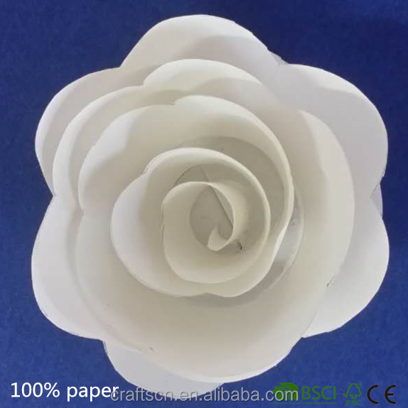 eco-friendly white rose for party decoration