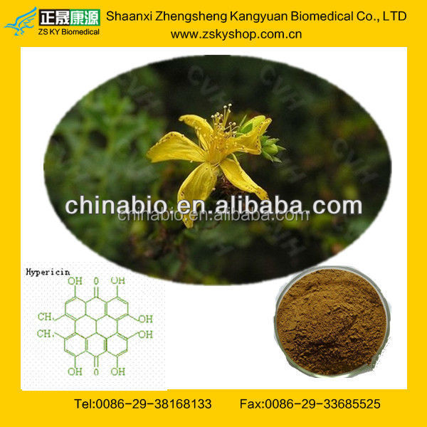 GMP Manufacturer Supply St.john's.Wort Plant Extract