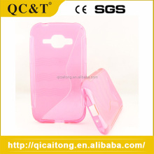 Factory Supply Fashion S Line Tpu Lighter Phone Case For Samsung N8000