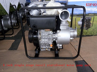 4 inch single-stage diesel water pump for irrigation and farming use China (KDP40)
