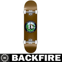 "Backfire Big Dollar Hunter Skateboard 7.5"" Complete DSM Premium"