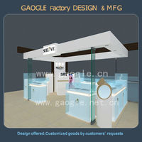 High-end jewelry store equipment for jewelry display with LED