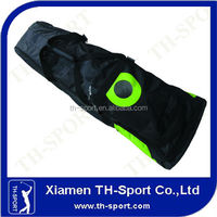 durable black polyester discount golf travel bags