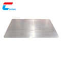 China factory low price steel color card PVC card