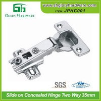 Classical professional clip on angled hinge