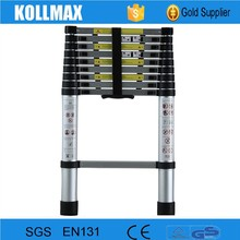 4.4m 15 treads yongkang foldaway step telescope ladder