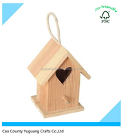 wooden bird house christmas gift for bird
