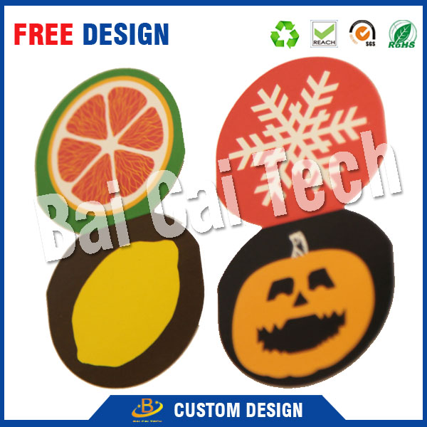 2017 Hot Sale Waterproof durable Garment Hangtag, Paper Tag, Printed PVC Tag