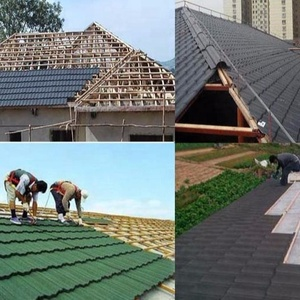 chinese ceramic roof tiles/ asphalt shingle manufacturer hot product for South Africa