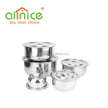 Hot selling 6pc 555 stainless steel stock pot set / commercial soup pots