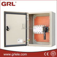 Waterproof IP44 metal electricity meter box