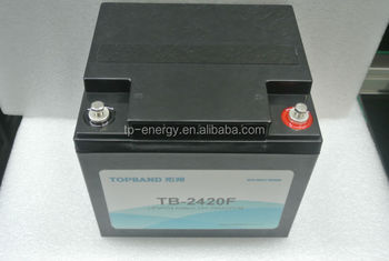 24V 20Ah lifepo4 solar street rechargeable battery pack
