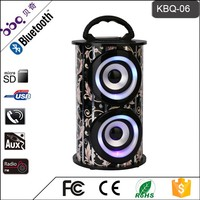 ODM LED screen display 1200mAh speaker portable with remote control